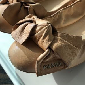 Prada Shoes - Prada Bow Flat